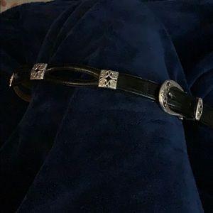 Brighton black/silver belt-still has tag